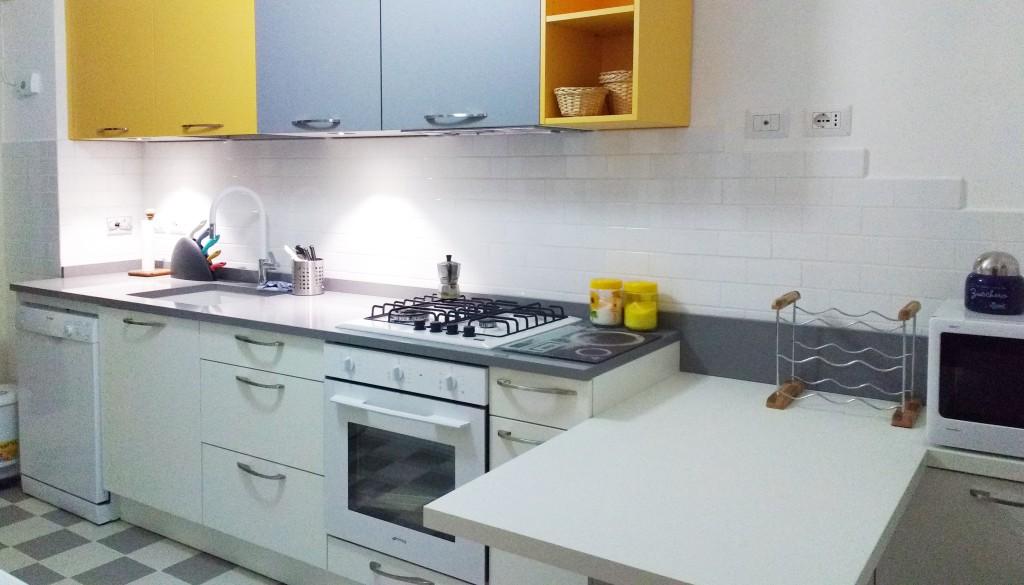 progettare la cucina in linea