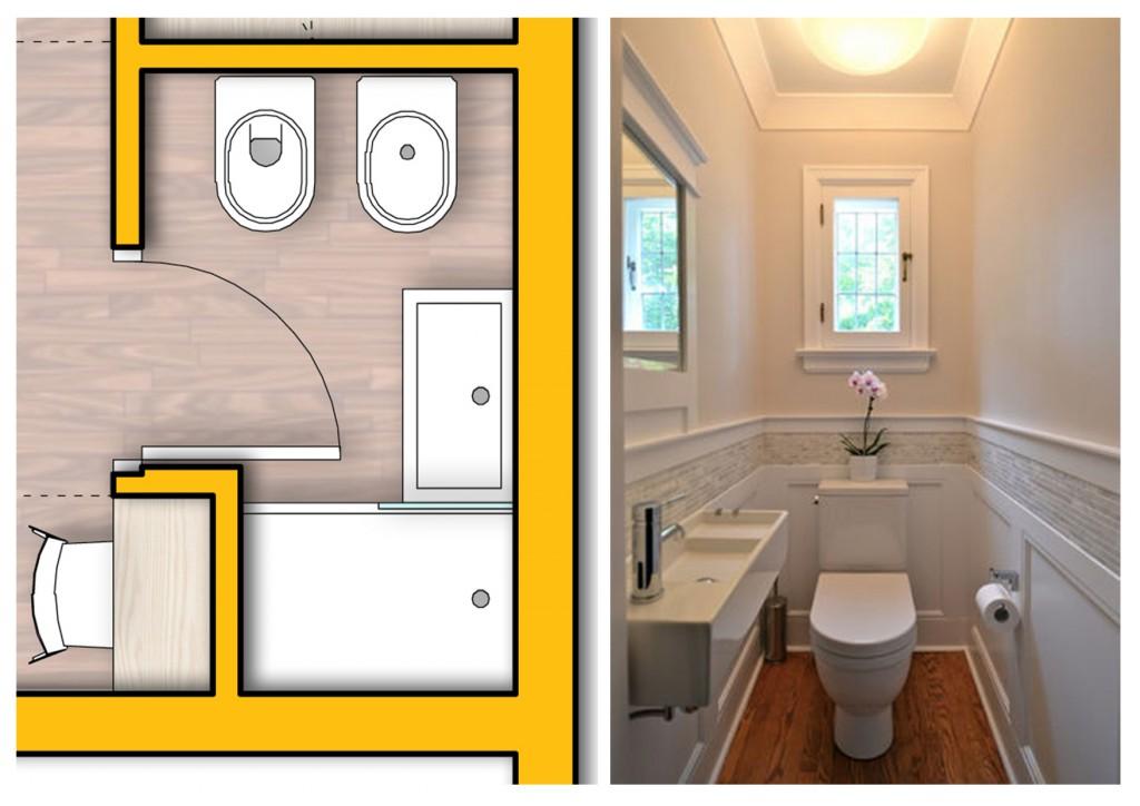 progettare il bagno piccolo 1