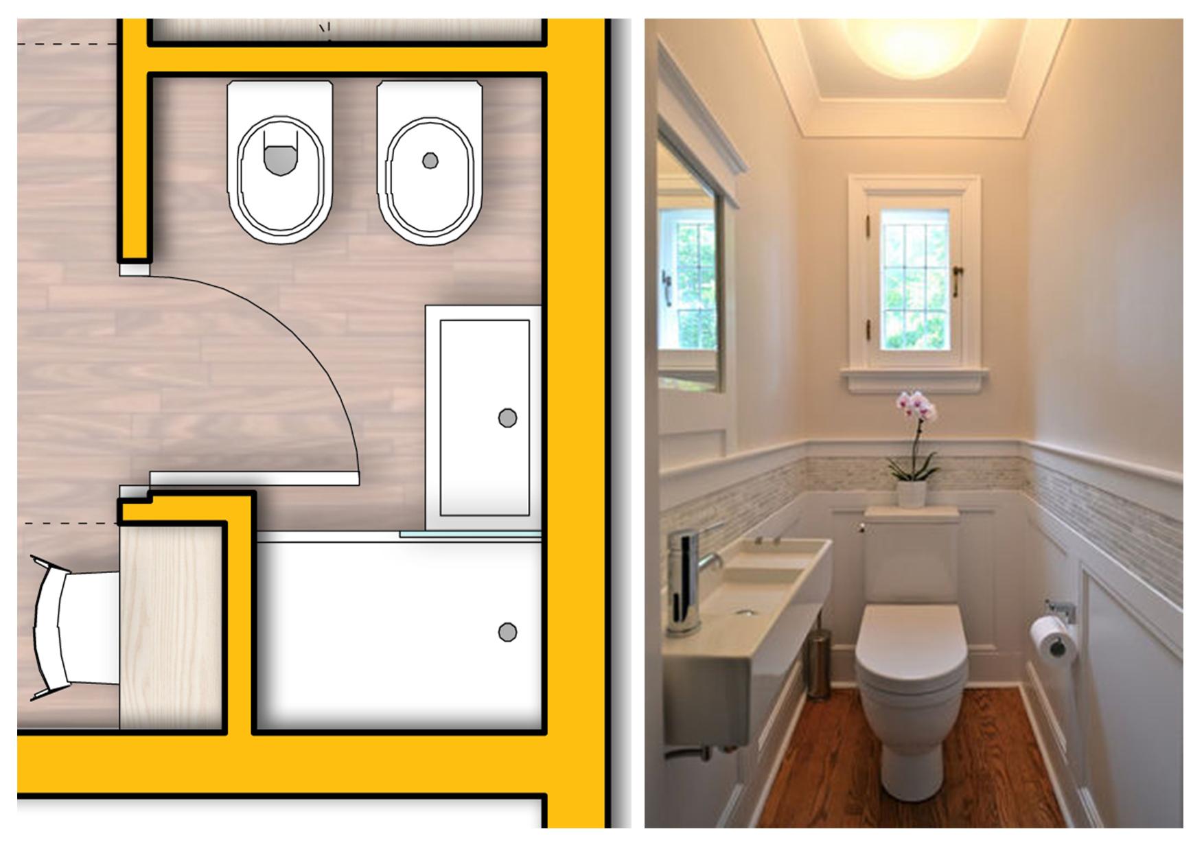 Progettare il bagno consigli pratici novahousenovahouse - Progettare bagno piccolo ...