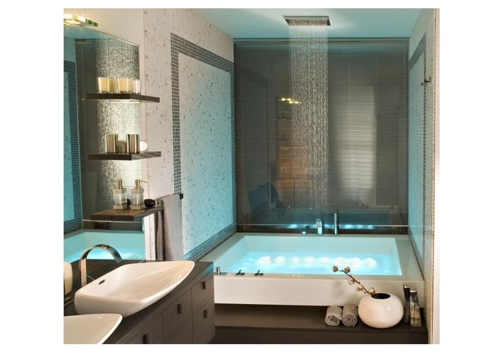 progettare il bagno quadrato 1