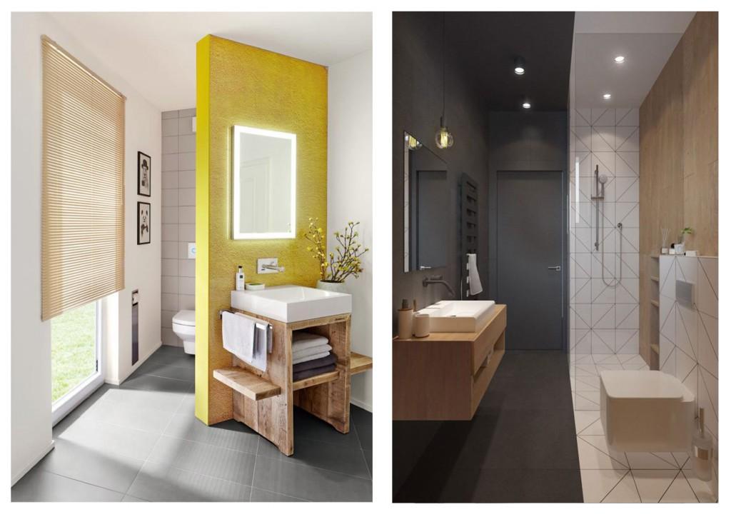 progettare il bagno quadrato 2