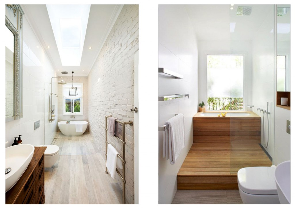 progettare il bagno stretto 3